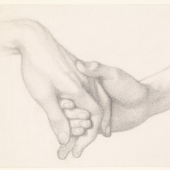 holding hands wikimedia